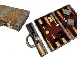 All calfskin Backgammon
