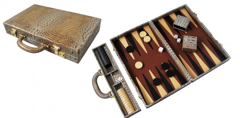 All calfskin Backgammon
