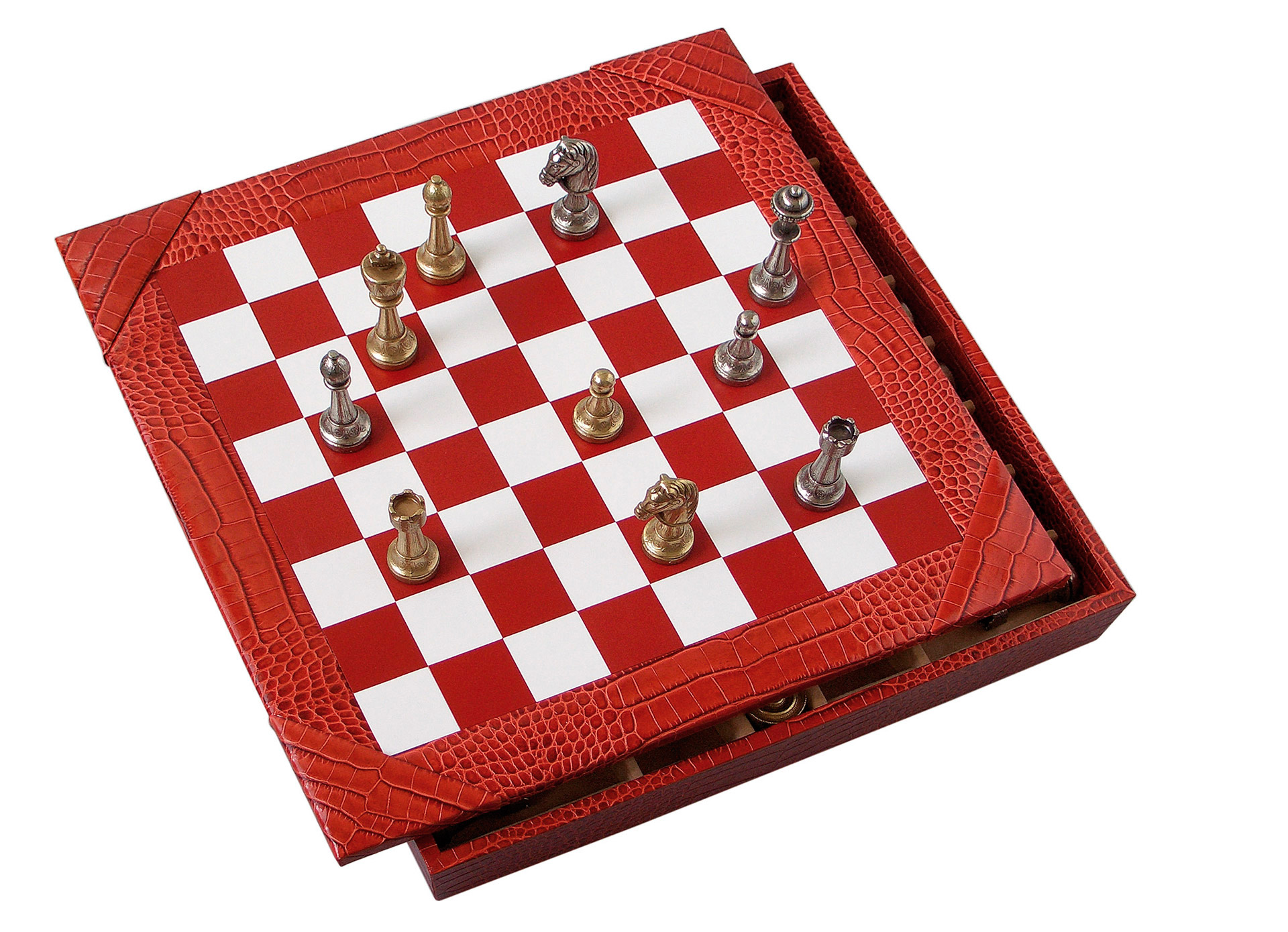 scacchiera rossa 00013 b