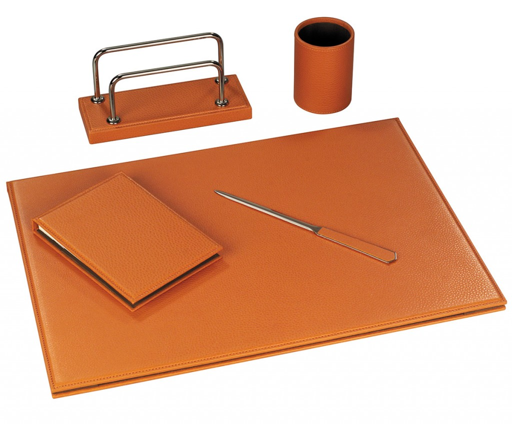 Set scrivania linea ufficio arte pellettieri for Scrivania arredo